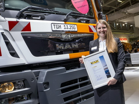 Комби-грузовик MAN получил премию VAK Innovation
