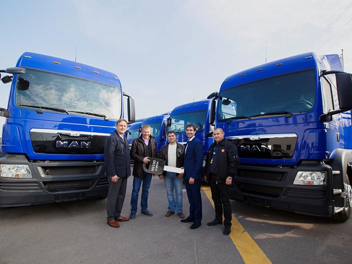 MAN поставит 33 грузовика российской «Ленте»