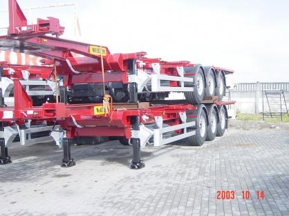 Полуприцеп контейнеровоз NS 3 P40