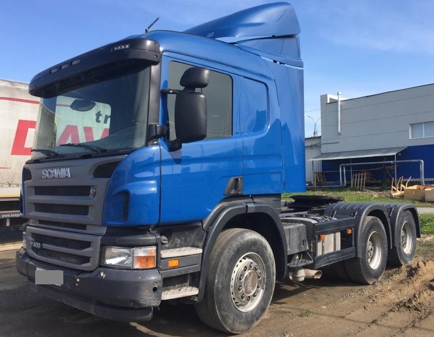 Scania Р400 6х4