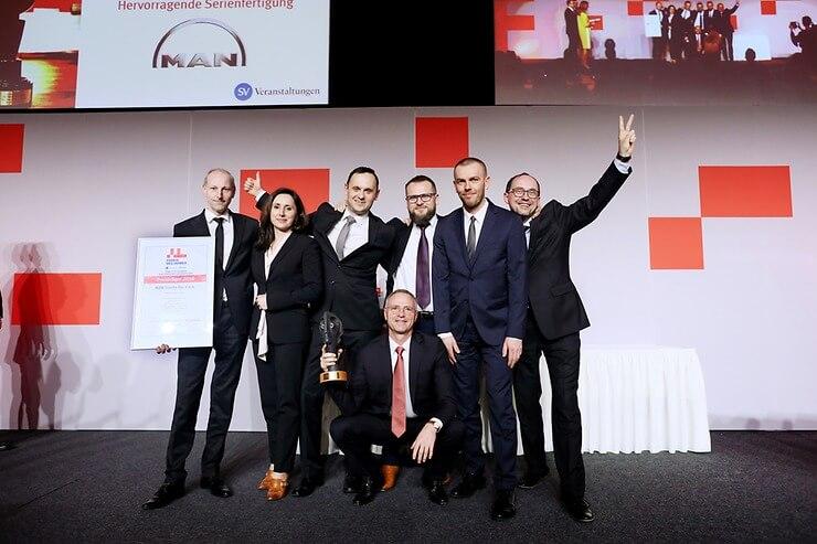 Производства MAN В Кракове побеждает в конкурсе «Завод года»