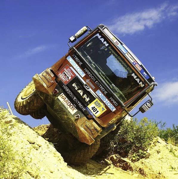 Команда HS-Schoch-Hardox стала Чемпионом уже в десятый раз на чемпионате «Europa truck trial»